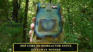 MSP Core M4 Bioreactor Give Away Winner