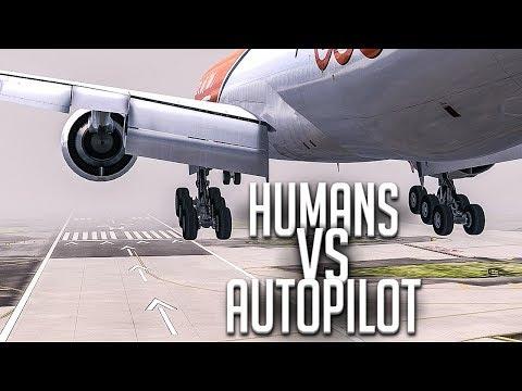 Download Youtube: Autopilot VS Humans | New Flight Simulator 2018
