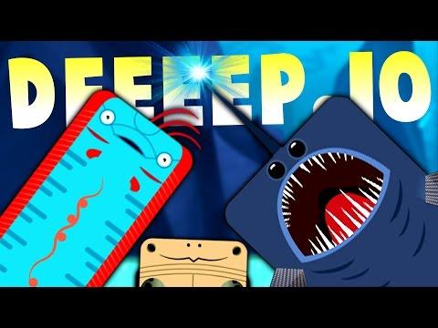 CRAFTY ANGLERFISH VS EVIL OARFISH! - New Creatures & Fishes - Deeeep.IO Gameplay