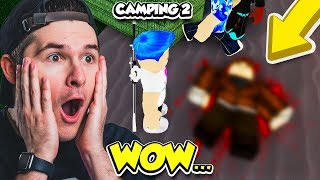 You HAVE TO SEE THIS CRAZY ENDING IN CAMPING 2... (Roblox)