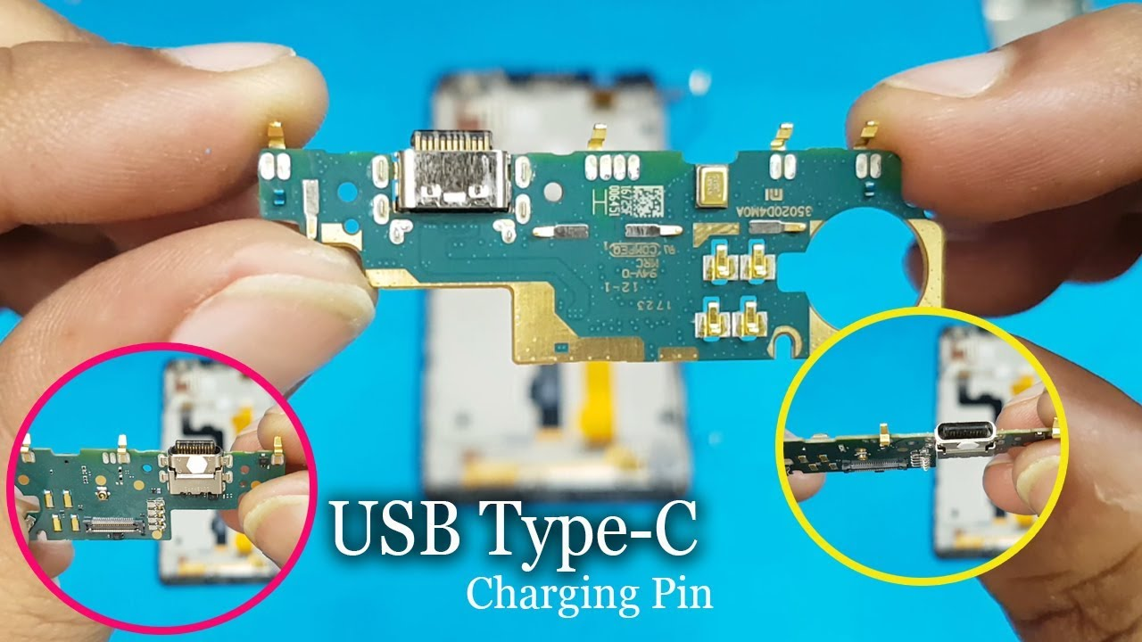 Xiaomi Mi Max 2 Type C Charging Port Replacement || How to Replace Type C  Charging Port