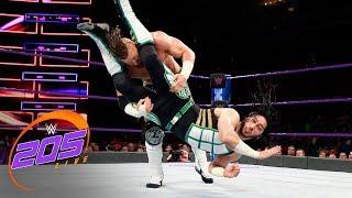 Mustafa Ali vs Buddy Murphy - Cruiserweight Title Tournament Quarterfinal: 205 Live, March 6, 2018