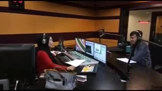 Poey stings live interview radio