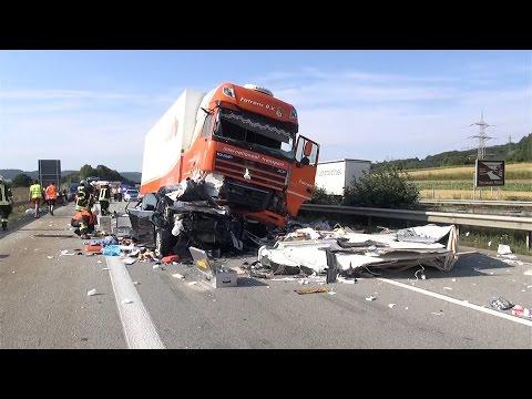 18.08.2016 - Tödlicher Unfall auf der A 61 bei Koblenz