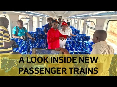 A first look inside the new Kenya Railways passenger trains