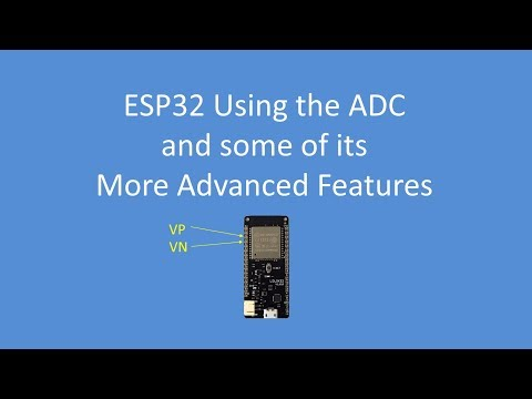 Tech Note 069 - Using the ESP32 ADC and some of its more