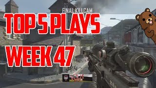 FaZe Rain : Top 5 Plays - Week 47 Powered by @ScufGaming