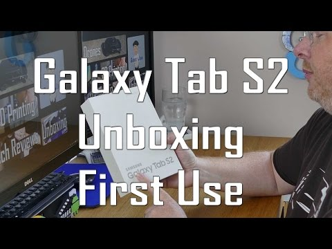 Best Android Tablet 2016: Samsung Galaxy Tab S2 Unboxing & First Impressions
