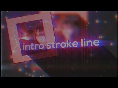 intro stroke line | after effects tutorial