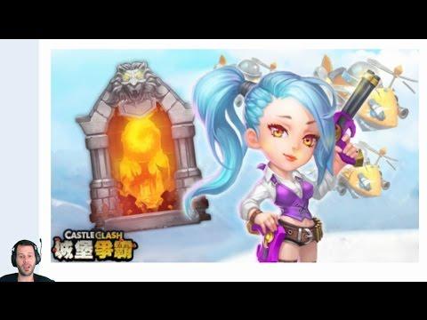 New Update CRAZY New Hero War Rose + INSANE Dungeon 7 Castle Clash