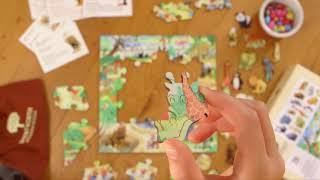 Animal Park  - Children's Wooden Jigsaw Puzzle