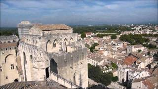 The Pope's Palace in Avignon, the Setting for My Novel Muse