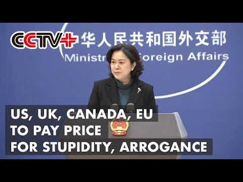 US, UK, Canada, EU to Pay Price for Stupidity, Arrogance: FM Spokeswoman