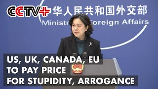 US, UK, Canada, EU to Pay Price for Stupidity, Arrogance: FM Spokeswoman