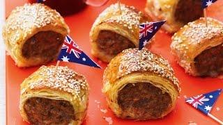 Mini Sausage Rolls - Recipe