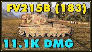 World of Tanks | FV215b (183) - 7 Kills - 11.1K Damage