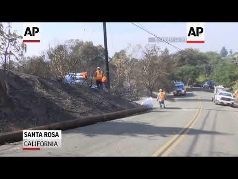 PG&E faces bankruptcy over California wildfires