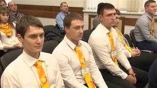 На нефтеперерабатывающем заводе молодые специалисты прошли обряд посвящения
