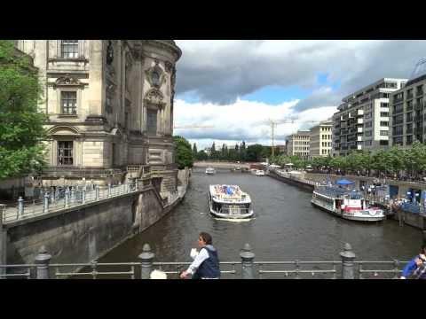 tour door Berlijn