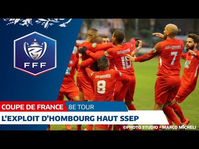 L'exploit d'Hombourg Haut SSEP face à l'AJ Auxerre (2-1) I 8e tour Coupe de France 2019-2020