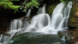 ♥♥ Very Relaxing 3 Hour Video of SMALL Waterfall