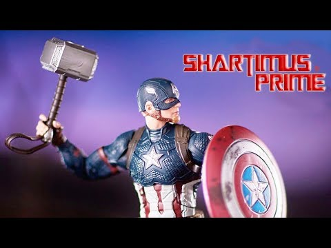 Marvel Legends Avengers Endgame Captain America Walmart Exclusive Figure Revealed