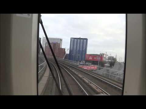 London. Dockland Light Railway (DLR). Bank-Woolwich Arsenal.