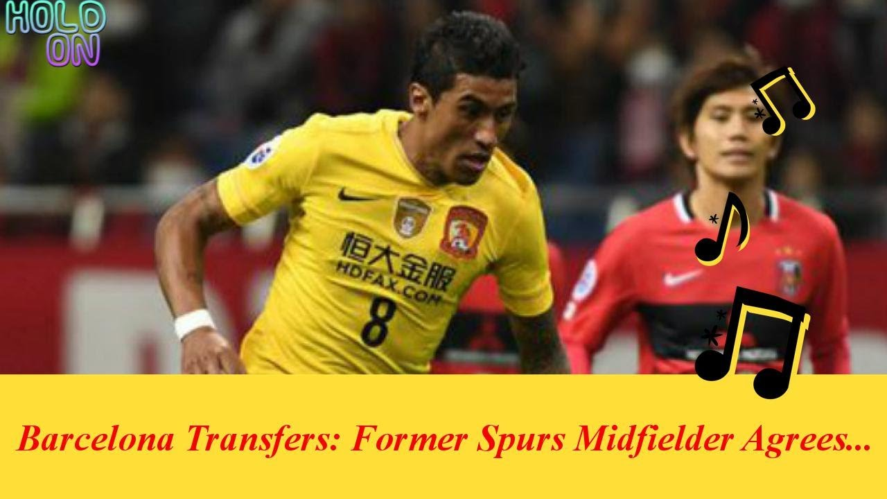 Barcelona Transfers: Former Spurs Midfielder Agrees Move To Nou Camp