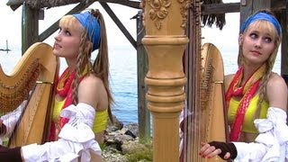 FINAL FANTASY Medley - Harp Twins - Camille and Kennerly