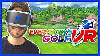 J'ai testé EVERYBODY'S GOLF VR sur PlayStation VR, mes impressions