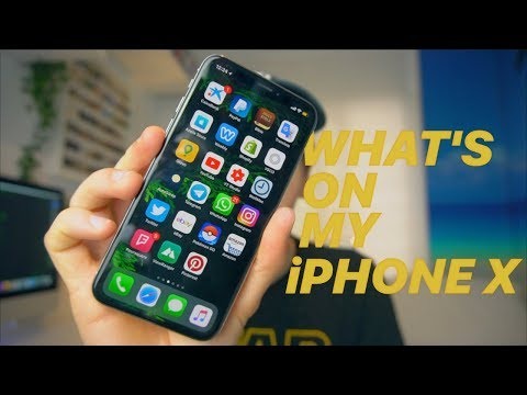 What's on my iPhone X (Summer 2018)