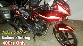 Changing Body Graphic Of My Pulsar 220f Patna Bikes Dob Movies