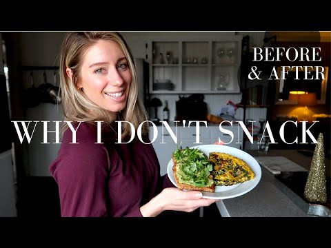 WHY I DON'T SNACK Hormones Weight Loss & Bloating
