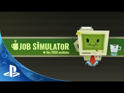 PlayStation Experience 2015: Job Simulator - Gameplay Teaser | PS VR