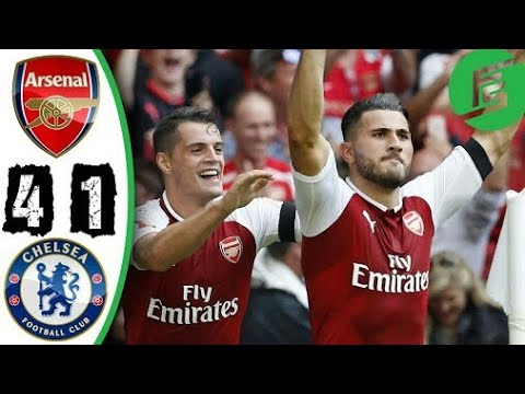 Download Arsenal vs Chelsea - 1-1 (4-1)(community shield) 6/8/17
