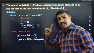 I PUC | Basic maths | Progressions-07