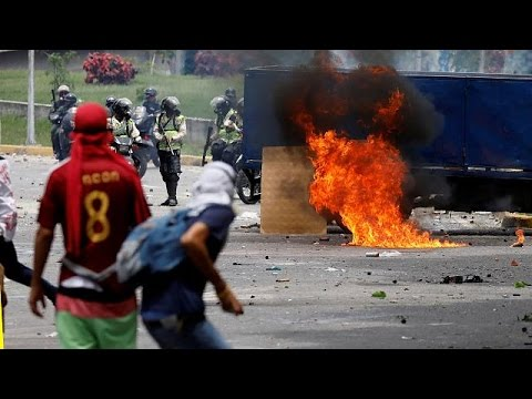 Venezuela: Caracas protests quashed