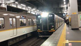夜の阪神本線 西宮駅    Hanshin Main Line of the night Nishinomiya station
