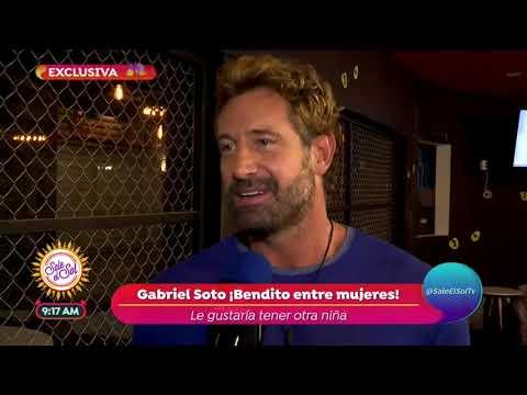 Gabriel Soto revela que desea tener un hijo con Irina Baeva | Sale el Sol