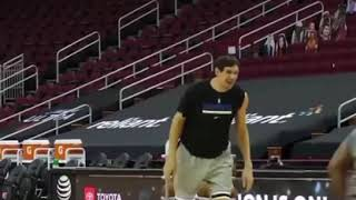 Boban Marjanovic shooting 3s in practice | NBA funny moments