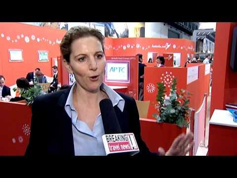 Katherine Droga, Regional Manager Continental Europe, Tourism Australia @ ITB 2010