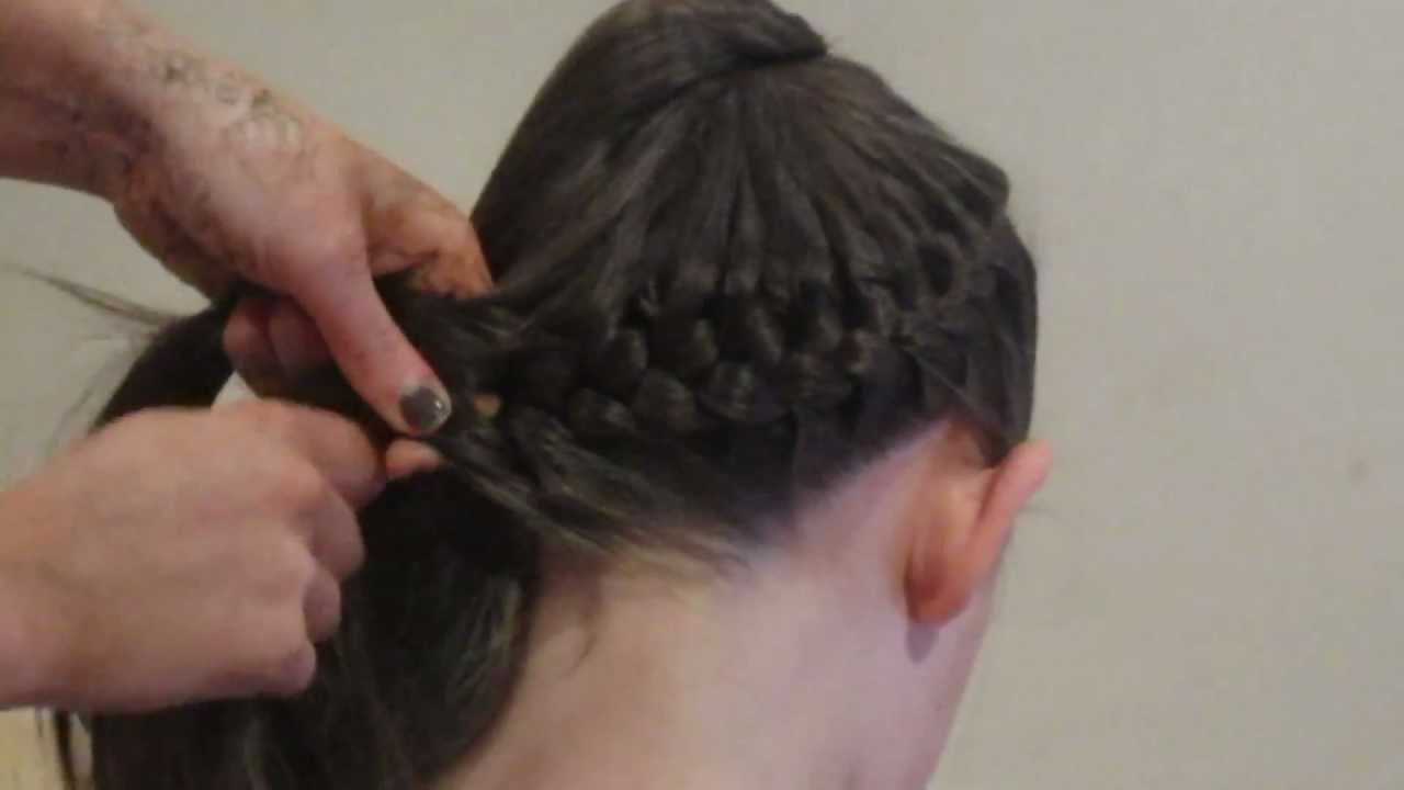 How To: French Braid Bun