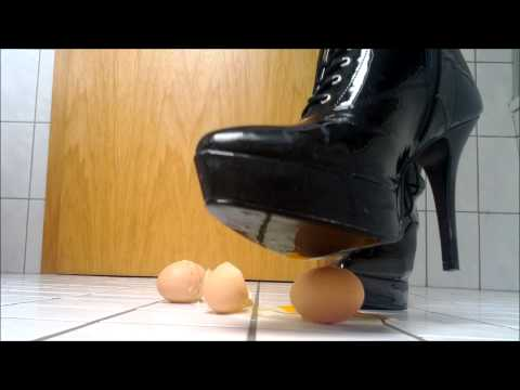 Patent Leather Pleaser high heel Egg crush
