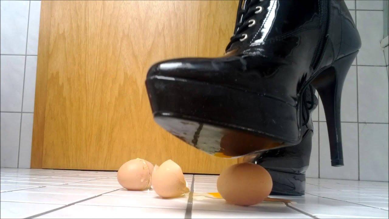 patent leather pleaser high heel egg crush youtube
