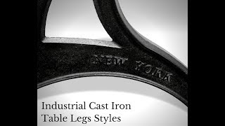 Video Industrial Cast Iron Table Legs Styles download MP3, MP4, WEBM, AVI, FLV April 2018