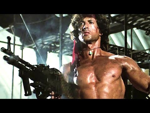 RAMBO FIRST BLOOD 1 to 4 Official Trailers (1992 - 2008) Stallone