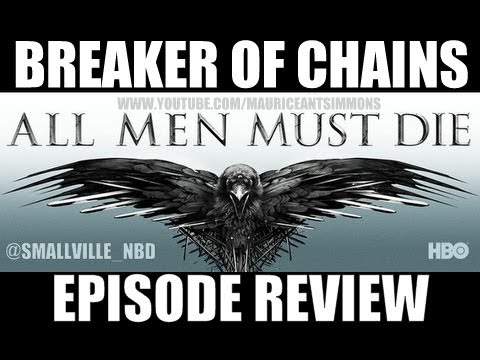 """Game of Thrones Season 4 """"Breaker of Chains"""" Quick FULL Episode Review *Podcast (10+Mins)"""