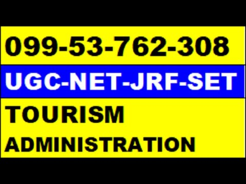 online classes for ugc net tourism administration and management online coaching for ugc net tourism