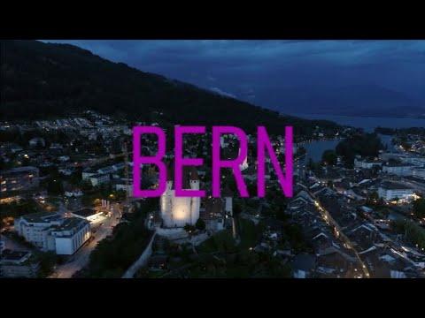 Bern, Switzerland (4K City Tour)