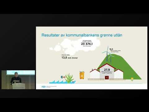 Lokalt klimaarbeid: Grønne lån fra Kommunalbanken